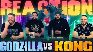 Godzilla vs. Kong - Official Trailer REACTION!!