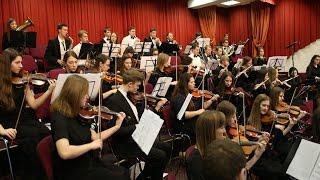 Сводный симфонический оркестр ХВЕ и хор Церкви Благодать Ты достоин