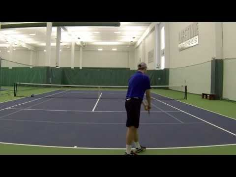 Scott Butler College Tennis Video