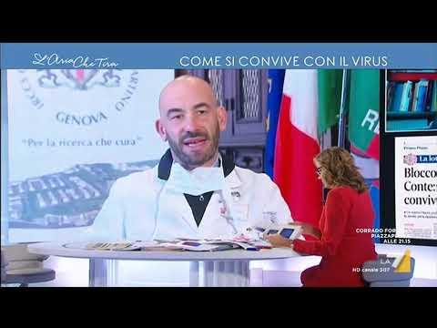 Convivere col Coronavirus, la speranza dell'infettivologo Matteo Bassetti: 'Speriamo che una ...
