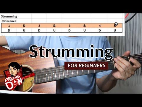 39Guitar STRUMMING39 Patterns  Guitar Tutorial for beginners tagalog