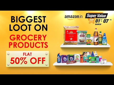 amazon-super-value-days:-50%-off-on-online-groceries