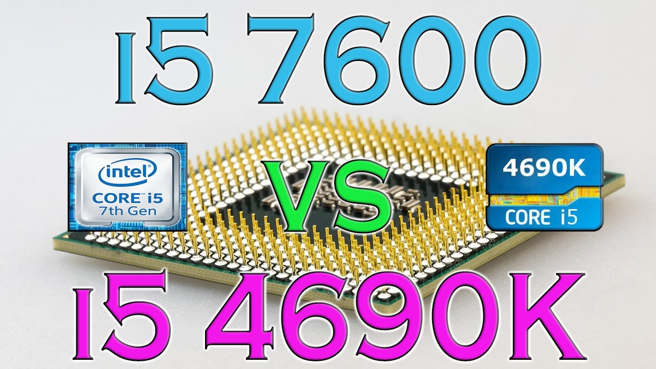 i5 7600 vs i5 4690K - BENCHMARKS / GAMING TESTS REVIEW AND COMPARISON /  Kaby Lake vs Haswell /
