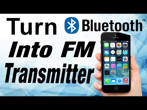 📻📲 Turn Bluetooth Into FM Transmitter ! FM Party