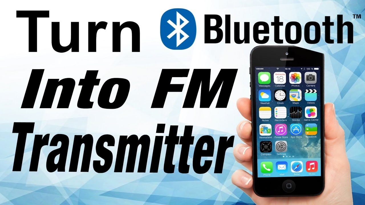 Turn Bluetooth Into Fm Transmitter Party Youtube View Large Photo Of Radio Integrated Circuit