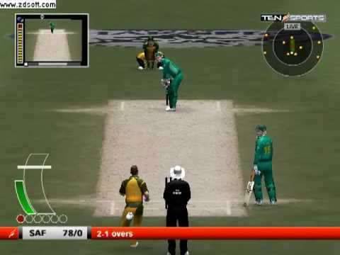 Ea sports Cricket 2009, six sixes of an over