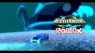 Roblox- Roues chaudes Acceleracers - Royaume d'eau avec le Power Rage
