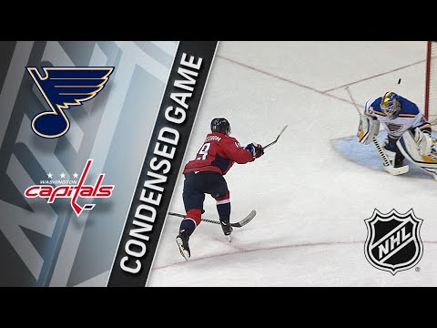 01/07/18 Condensed Game: Blues @ Capitals