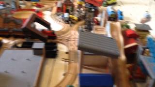 My Retry 1st Thomas Wooden Railway Layout!