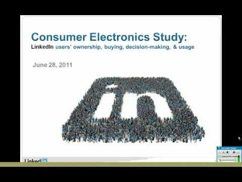 Marketing Solutions Webcast: Reaching affluent Consumer Electronics Buyers on LinkedIn