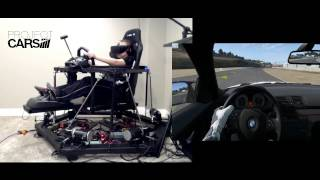 Project Cars - 6DOF Motion Racing Simulator with Oculus Rift