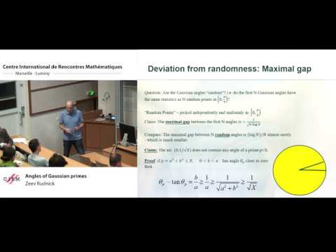 Zeev Rudnick: Angles of Gaussian primes