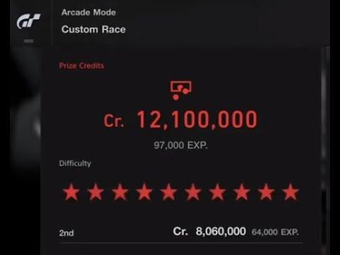 Auto Grind For 8,060,000 Credits 64,000 Xp Gran Turismo®SPORT