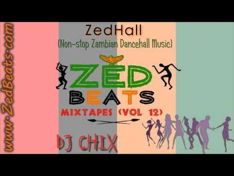 ZedBeats Mixtapes (Vol. 12) - ZedHall 1 (Non-Stop Zambian Dancehall Music)