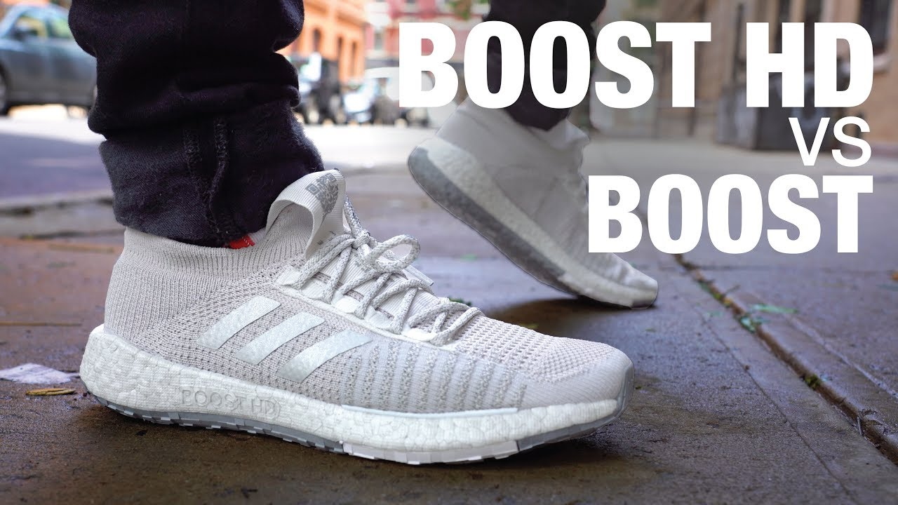 5eac726d BOOST HD VS BOOST Which is Better?! Adidas PulseBoost HD Review & On ...