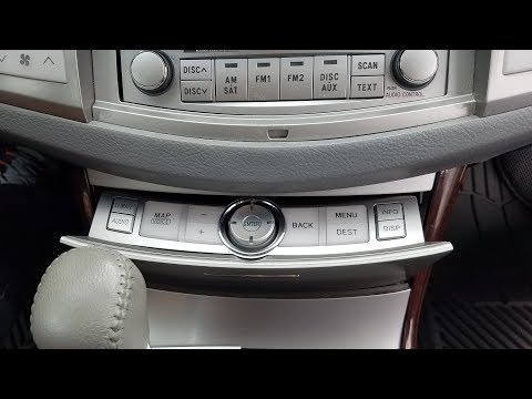 How To Remove Navigation Control Panel From Toyota Avalon 2009 For Repair.