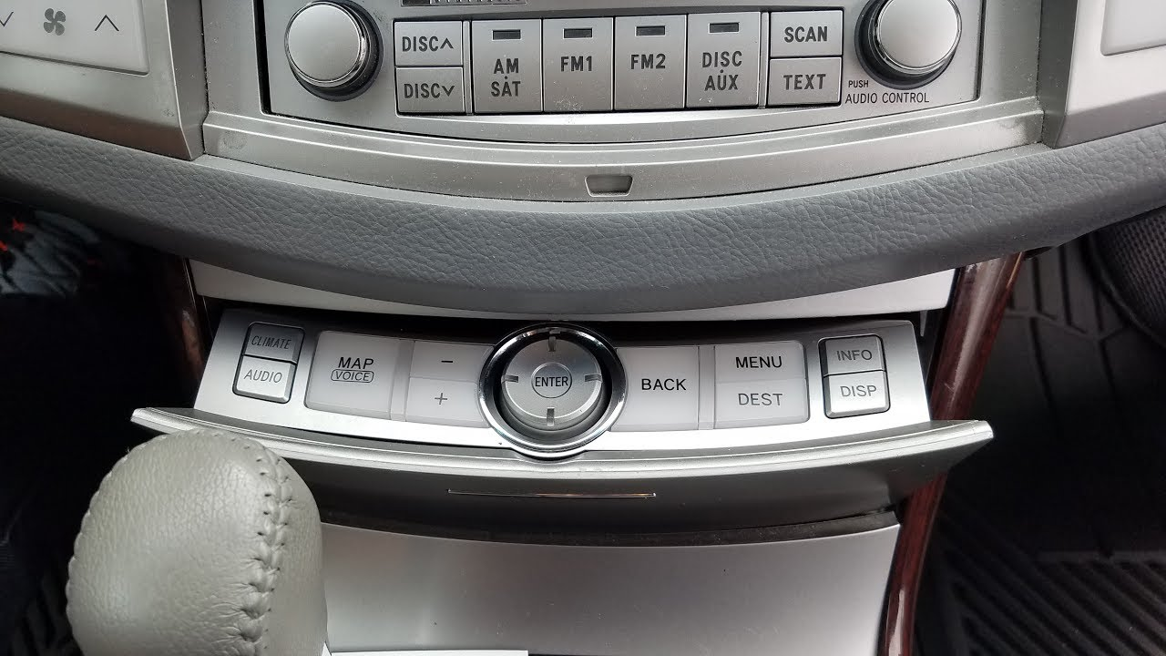 how to remove navigation control panel from toyota avalon 2009 for repair  [ 1280 x 720 Pixel ]