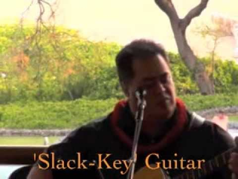 MUSICIAN-Pomai Brown making sweet Hawaiian Music on the Big Isle