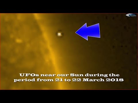 nouvel ordre mondial   UFOs near our Sun during the period from 21 to 22 March 2018