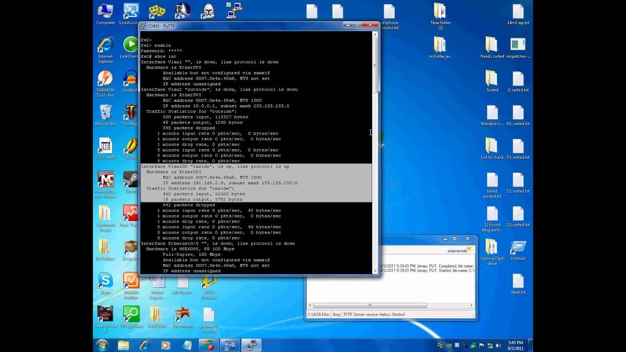 Using a TFTP Server with Cisco Equipment