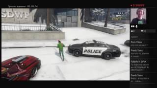 GTA 5 Online Врубилься снег готовимся к новому 2017 году