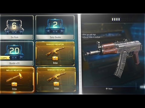 FREE DLC WEAPON BRIBE FOR NEW DLC WEAPONS - NEW AK74u DLC WEAPONS COMING TODAY!!