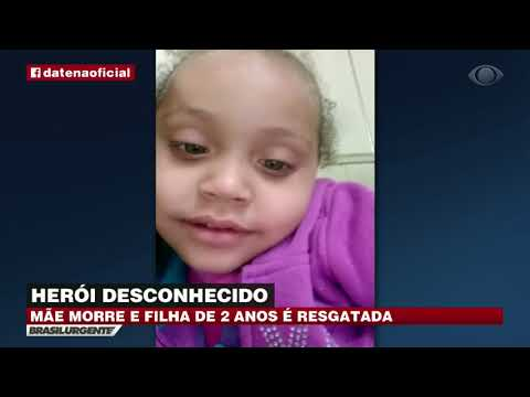 SP: Herói desconhecido salva menina em incêndio