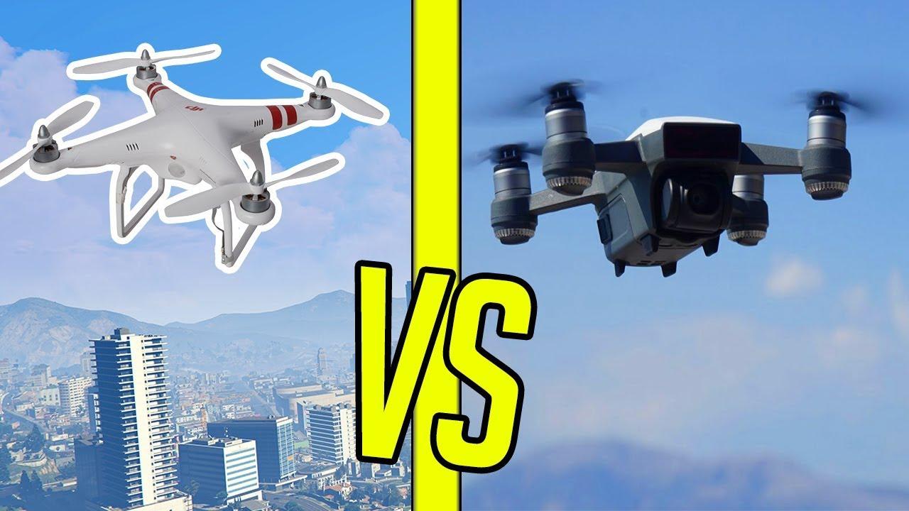DRON z GTA vs DRON KALUCHA! ⚡