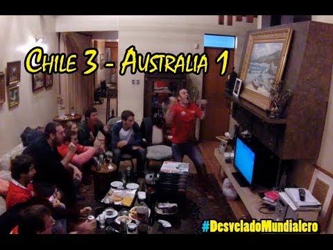 Chile 3 Australia 1 | Mundial Brasil 2014 - La Vida Del Desvelado