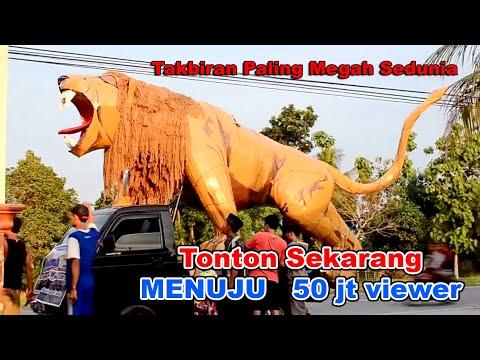 Takbir keliling paling Megah Sedunia 2018 M / 1439 H Mintreng Wareng Delok Sekarpetak Demak Jateng