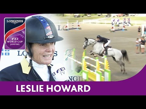3rd: Leslie Howard | Longines FEI World Cup™ Jumping 2016/17 | Bromont (CAN)