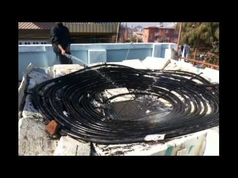 Do your DIY solar water heater this winter