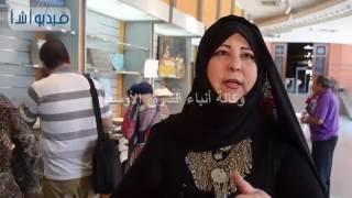 بالفيديو : نظرا للاقبال الشديد.. مسئولو معرض المستنسخات والكتب يناشدون الجمهور بالنظام