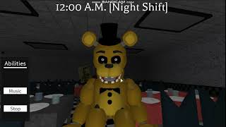 ROBLOX FNAF song - Just Gold[By MandoPony] [Remade in ROBLOX]