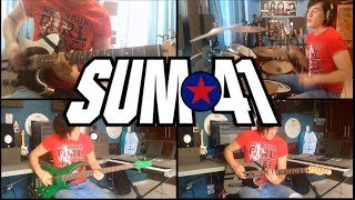 Fake My Own Death - Sum 41 (Instrumental Cover) (Guitar Cover) (Bass Cover) (Drum Cover)