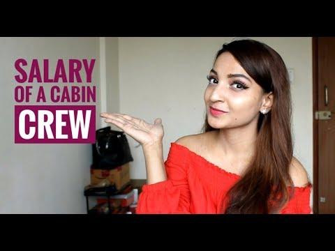 Salary Of A Cabin Crew /Airhostess [Hindi]