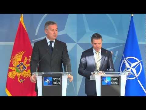 NATO Secretary General & Prime Minister of Montenegro - Joint Press Conference