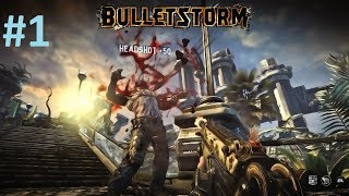 "Bulletstorm Full Clip Edition Gameplay Walkthrough (Part 1) ""Crash Landing"""