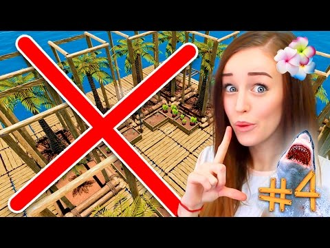 😱 DELETED MY GAME?!!? 🌴 - RAFT #4
