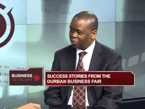 Durban Business Fair with Phillip Sithole