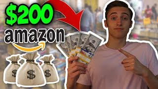 How To Turn $200 Into $2000 Selling Books On Amazon FBA (Book Sales)