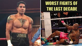 Boxing's Top 10 Worst Fights Of The Last Decade