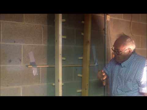 Bowing Basement Wall (DIY) $300.00