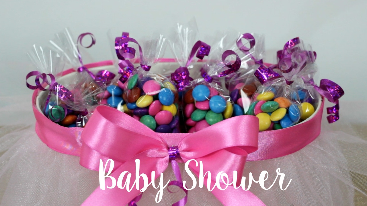 BABY SHOWER DE NIA MANUALIDADES / IDEAS PARA MESA DE
