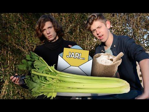 Selleri mel og spørgsmål med Jarl