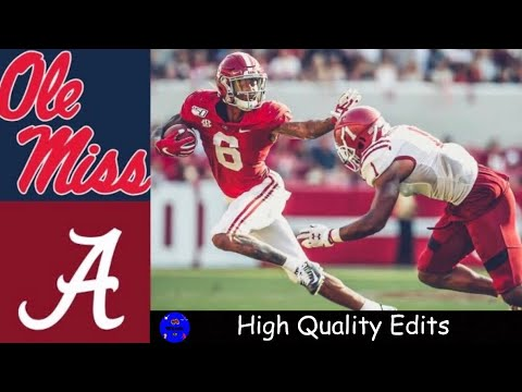 image for #2 Alabama- 59  Ole Miss- 31 | Recaps & Highlights