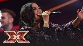 Bella Santiago canta piesa &quotHora din Moldova&quot, in a doua gala LIVE X Factor!