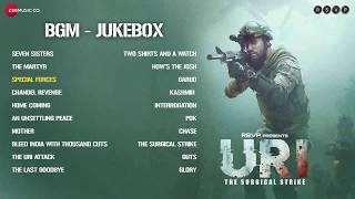 URI   The Surgical Strike   BGM Jukebox   Special Forces   Shashwat Sachdev   Vicky Kaushal, Mohit R