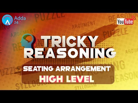 IBPS RRB PO | Seating Arrangement | Reasoning | Online Coaching for SBI IBPS Bank PO