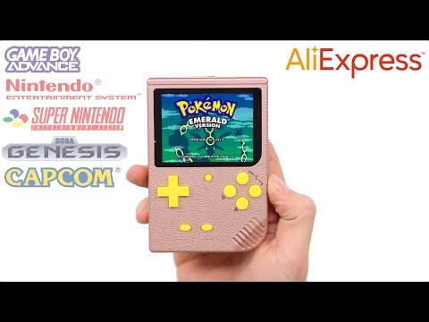 unboxing-aliexpress'-$20-retro-handheld-console!